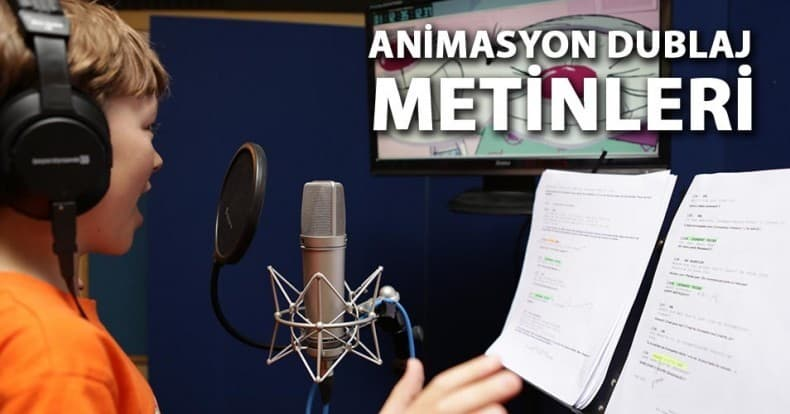 Dubbing Scripts For Animations