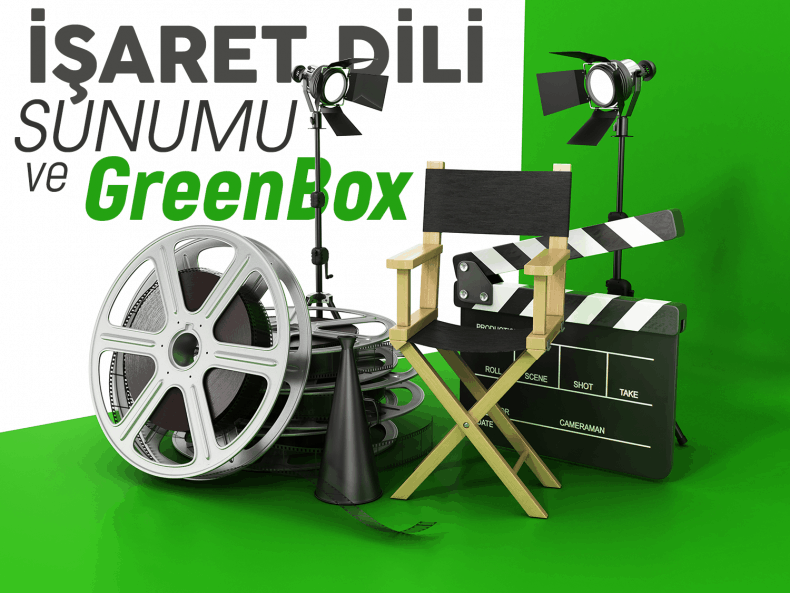 Sign Language Presentation And Greenbox