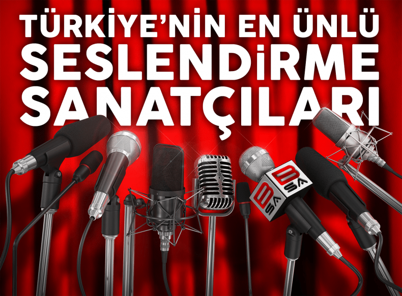 The Most Famous Voice-Over Talents Of Turkey